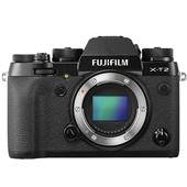 A picture of Fujifilm X-T2 Mirrorless Camera Body in Black