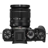 A picture of Fujifilm X-T2 Mirrorless Camera in Black with XF18-55mm Lens