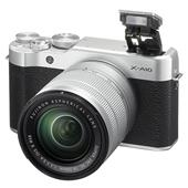 A picture of Fujifilm X-A10 Mirrorless Camera in Black with XC16-50mm f/3.5-5.6 OIS II Lens