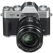 A picture of Fujifilm X-T20 Mirrorless Camera in Silver with XF18-55mm f/2.8-4.0 R OIS Lens