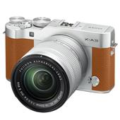 A picture of Fujifilm X-A3 Mirrorless Camera In Camel Brown with XC16-50mm Lens - Ex Display