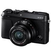 A picture of Fujifilm X-E3 Mirrorless Camera in Black with XF23mm f/2 R WR Lens