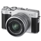 A picture of Fujifilm X-A5 Mirrorless Camera In Silver with XC15-45mm Lens