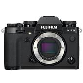 A picture of Fujifilm X-T3 Mirrorless Camera Body in Black