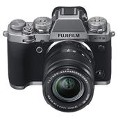 A picture of Fujifilm X-T3 Mirrorless Camera in Silver with XF18-55mm Lens - Ex Display