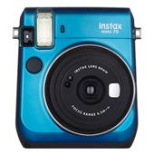 A picture of Instax mini 70 Instant Camera in Blue with 10 Shots
