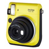 A picture of Instax mini 70 Instant Camera in Yellow with 10 Shots