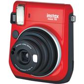 A picture of Instax mini 70 Instant Camera in Red with 10 Shots