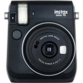 A picture of Instax mini 70 Instant Camera in Black with 10 Shots