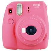 A picture of Instax mini 9 Instant Camera in Flamingo Pink with 10 Shots
