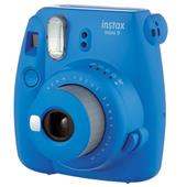 A picture of Instax mini 9 Instant Camera in Cobalt Blue with 10 Shots