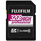 A picture of Fujifilm Professional SDHC 90MB/s 32GB UHS-I Memory Card