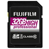 A picture of Fujifilm Professional SDHC 285MB/s 32GB UHS-II Memory Card