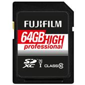 A picture of Fujifilm Professional SDXC 90MB/s 64GB l UHS-I Memory Card