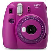 A picture of Instax Mini 9 Instant Camera in Clear Purple with 10 Shots