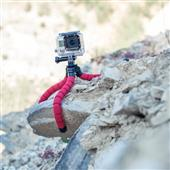 A picture of Hama Flex Tripod for Smartphone and GoPro, 26cm, Red