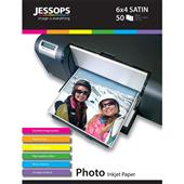 A picture of Jessops Inkjet 6x4 Satin Photo Paper 240gsm - 50 Sheets