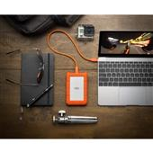 A picture of LaCie Rugged USB-C 4 TB External HDD - USB 3.1 Gen 1 - USB-C
