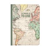 A picture of Legami Quaderno A5 Lined Travel Journal