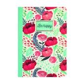 A picture of Legami Quaderno A6 Lines Flower Journal