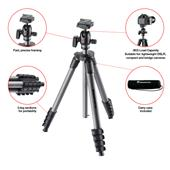 A picture of Manfrotto Compact Advanced Aluminium Tripod with Ball Head