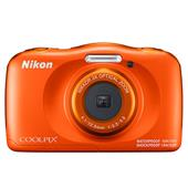 A picture of Nikon Coolpix W150 Camera in Orange