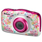 A picture of Nikon Coolpix W150 Camera in Flowers