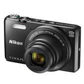 A picture of Nikon Coolpix S7000 Digital Camera in Black
