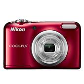 A picture of Nikon Coolpix A10 Digital Camera in Red