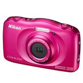 A picture of Nikon Coolpix W100 Digital Camera in Pink