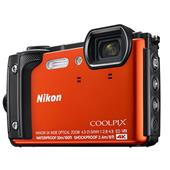 A picture of Nikon Coolpix W300 Camera in Orange