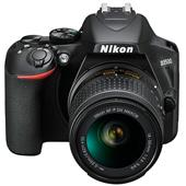 A picture of Nikon D3500 Digital SLR in Black + 18-55mm f/3.5-5.6 AF-P Non-VR Lens