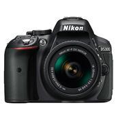 A picture of Nikon D5300 Digital SLR in Black with 18-55mm AF-P VR Lens