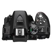 A picture of Nikon D5300 Digital SLR in Black with 18-105mm VR Lens
