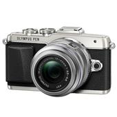 A picture of Olympus PEN E-PL7 Compact System Camera in Silver + 14-42mm II R Lens