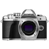 A picture of Olympus OM-D E-M10 Mark III Mirrorless Camera Body in Silver