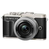 A picture of Olympus PEN E-PL9 Mirrorless Camera in Black with 14-42mm EZ Lens
