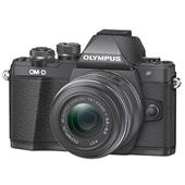 A picture of Olympus OM-D E-M10 Mark II Compact System Camera in Black with 14-42mm Lens - Ex Display