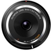 A picture of Olympus 9mm f/8.0 Body Cap Lens in Black