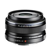 A picture of Olympus M.ZUIKO Digital 17mm f1.8 Lens in Black
