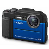 A picture of Panasonic Lumix DC- FT7 Digital Camera in Blue - Ex Display