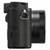 A picture of Panasonic Lumix GX9 Mirrorless Camera in Black with 12-32mm and 35-100mm Lenses