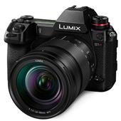 A picture of Panasonic Lumix DC-S1R Mirrorless Camera with 24-105mm Lens DC-S1RME-K - Ex Display)
