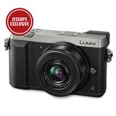 A picture of Panasonic Lumix DMC-GX80 Mirrorless Camera in Silver with 12-32mm Lens