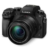 A picture of Panasonic Lumix DMC-G7 Compact System Camera in Black with 12-60mm Lens
