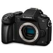 A picture of Panasonic Lumix DMC-G80 Mirrorless Camera Body in Black