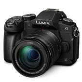 A picture of Panasonic Lumix DMC-G80 Mirrorless Camera in Black with 12-60mm Lens