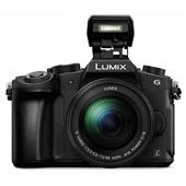 A picture of Panasonic Lumix DMC-G80 Mirrorless Camera in Black + 12-60mm Lens - Ex-Display