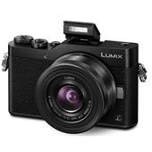 A picture of Panasonic Lumix DMC-GX800 Mirrorless Camera in Black with 12-32mm Lens