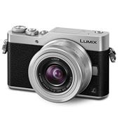A picture of Panasonic Lumix DMC-GX800 Mirrorless Camera in Silver with 12-32mm Lens